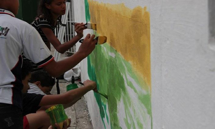 Campus Abreu e Lima marca 10 anos do IFPE com arte