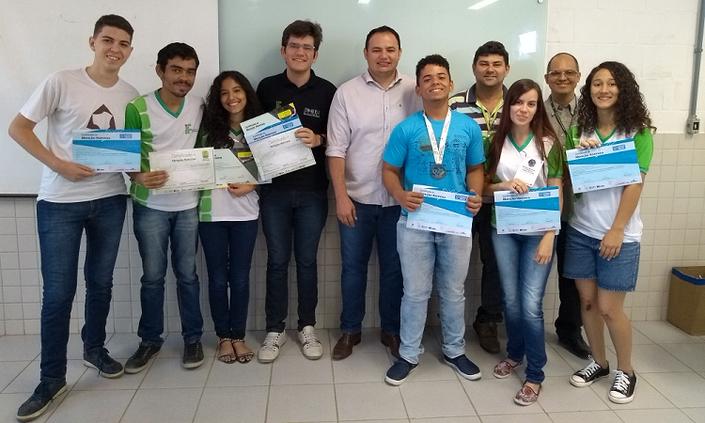 Alunos do IFPE-Afogados são premiados por participação em olimpíadas de matemática