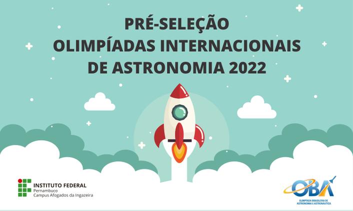 Estudantes são Pré-selecionados para Olimpíadas Internacionais de Astronomia