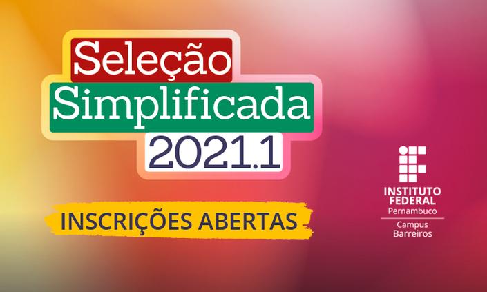 Campus Barreiros lança seleção simplificada para novos estudantes