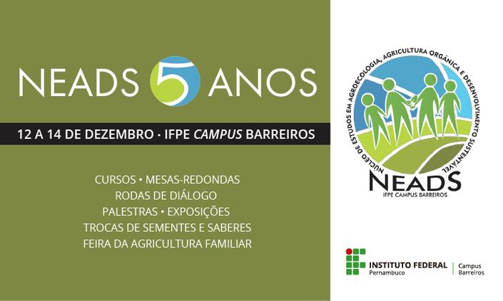 Neads do IFPE-Barreiros comemora 5 anos
