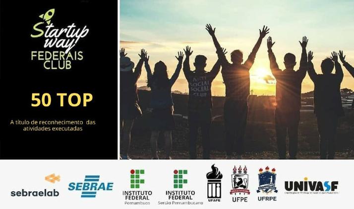 Equipe do Campus está entre as 50 melhores do Startup Ways Federais Club