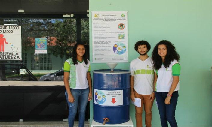 Projeto do IFPE-Belo Jardim produz sabão a partir de óleo de fritura usado