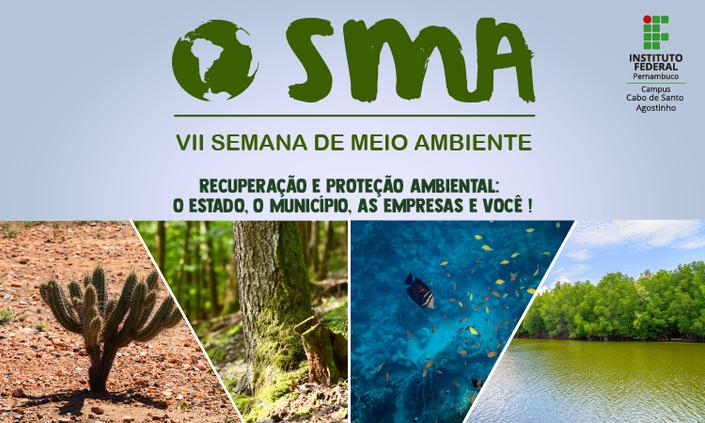 Inscrições abertas para a Semana de Meio Ambiente do Campus Cabo de Santo Agostinho