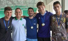 Campeões Atletismo Masculino 4x100m: Equipe Mecatrônica Integrado