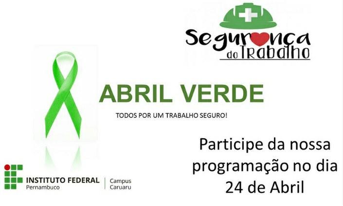 Campus Caruaru promove evento Abril Verde
