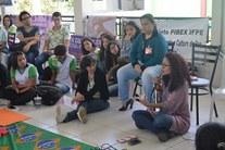 Joana Figueiredo, representante da Secretaria de Políticas para Mulheres, fala sobre relacionamentos abusivos.
