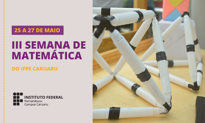 IFPE Caruaru anuncia data para a Semana de Matemática
