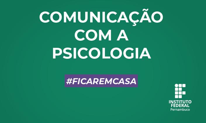 IFPE divulga e-mails para comunicação com profissionais de psicologia