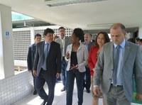 Ministro da Educação visita IFPE Caruaru
