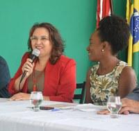 Anália Ribeiro, reitora do IFPE, e Elaine Rocha, DG do campus Caruaru