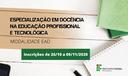 Banner Especialização Docência