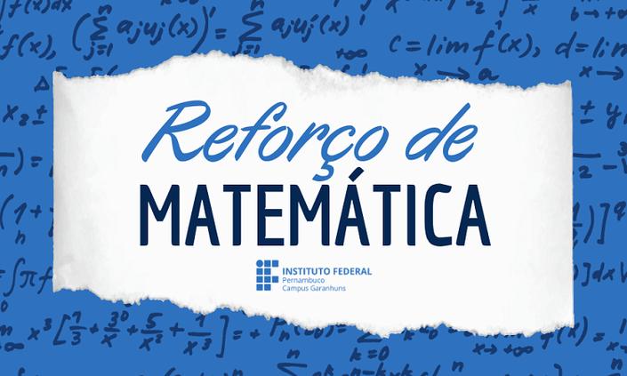 Campus ofertará reforço de Matemática