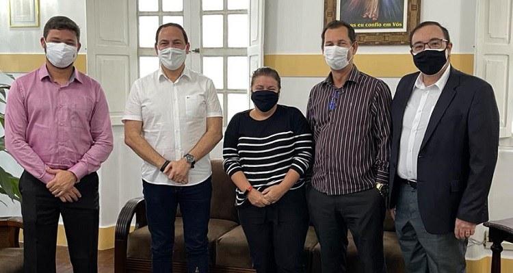 IFPE, UFAPE, AESGA e UPE participam de audiência com prefeito de Garanhuns