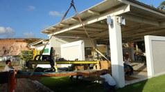 Obras do Campus Ipojuca, em 2007-2008