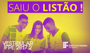 Listão Vestibular 2017.2