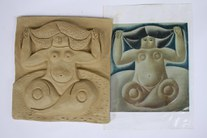 modelagem em argila