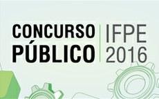 Concurso Público IFPE