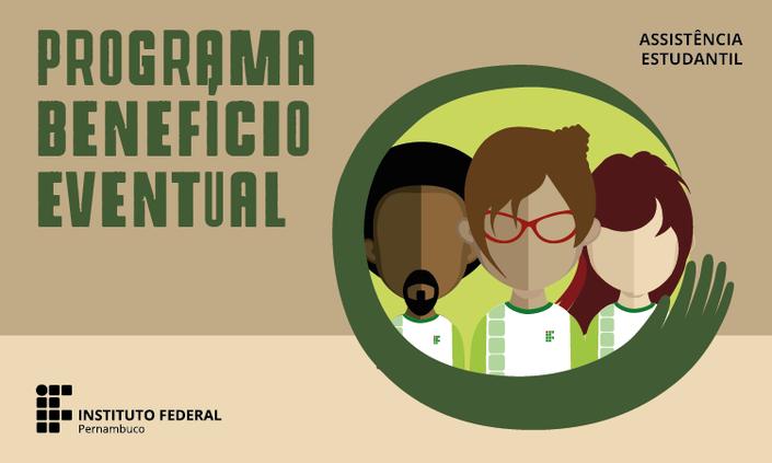 IFPE Olinda lança chamada interna do Programa de Benefício Eventual