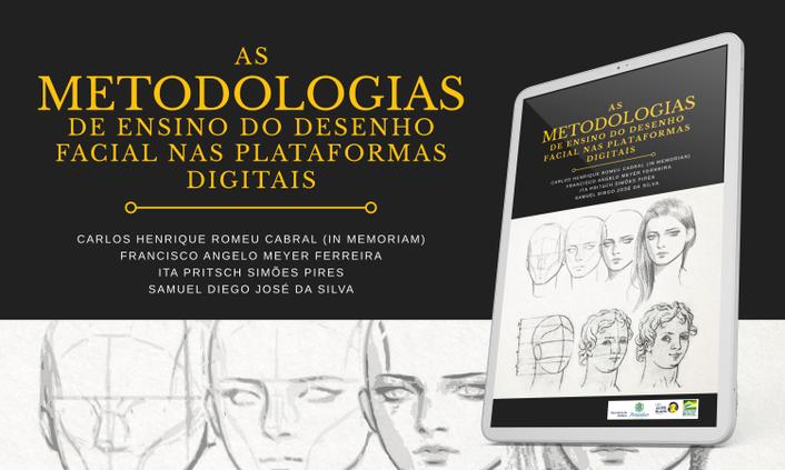 Professores e estudantes lançam livro sobre ensino on-line de desenho facial