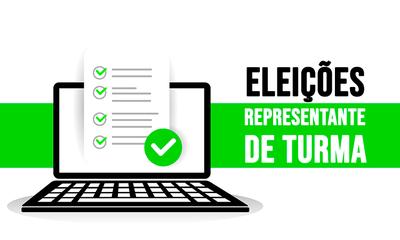 eleições representante de turma