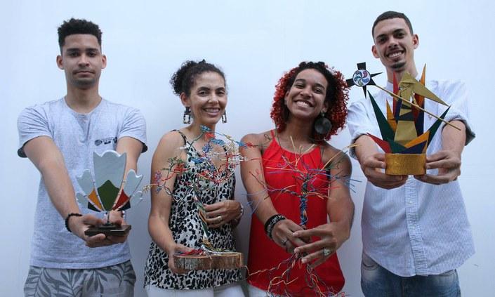 Troféus de jogos do IFPE são produzidos por estudantes do Campus Olinda