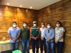 Equipes do IFPE e da Prefeitura de Palmares reuniram-se na última terça-feira (02)