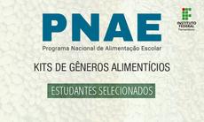 Campus Palmares divulga resultado final de chamada do PNAE
