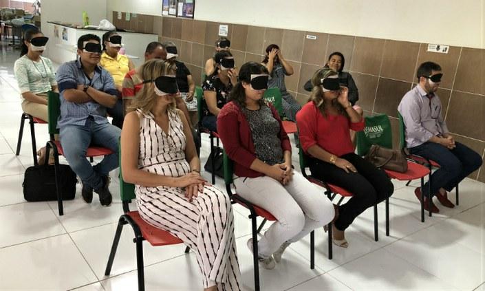 Campus Palmares promove encerramento do curso de Tiflologia em Braile