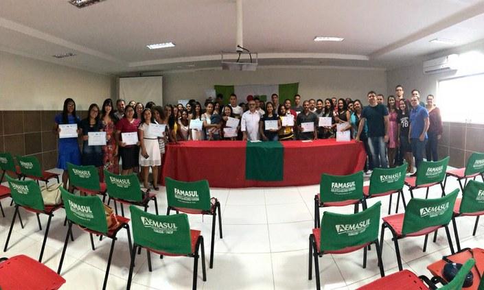 Pronatec do Campus Palmares realiza formaturas