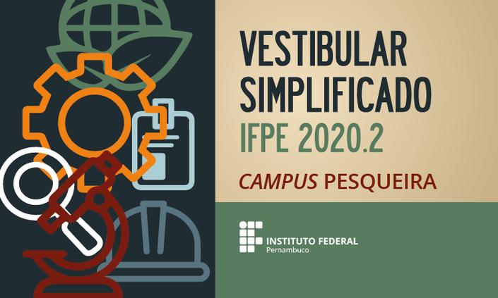 Prorrogado prazo de inscrição no Vestibular Simplificado IFPE 2020.2