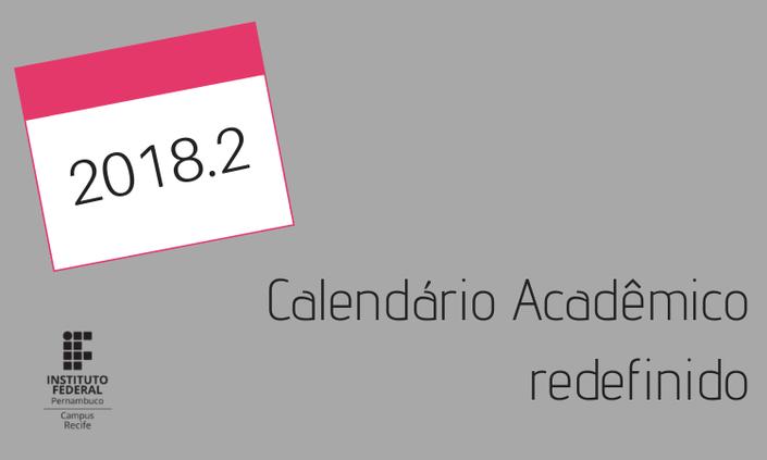 DEN atualiza calendário acadêmico