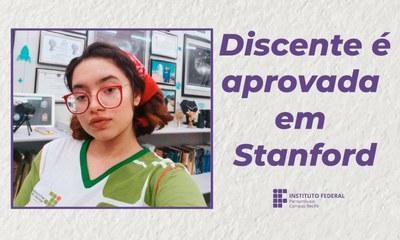 Amanda Arruda (16) é aprovada em Stanford
