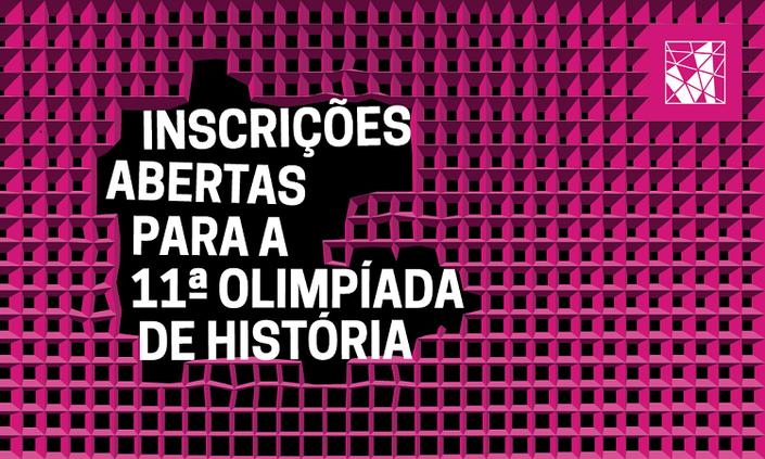 Inscrições para Olimpíada de História seguem até 26 de abril