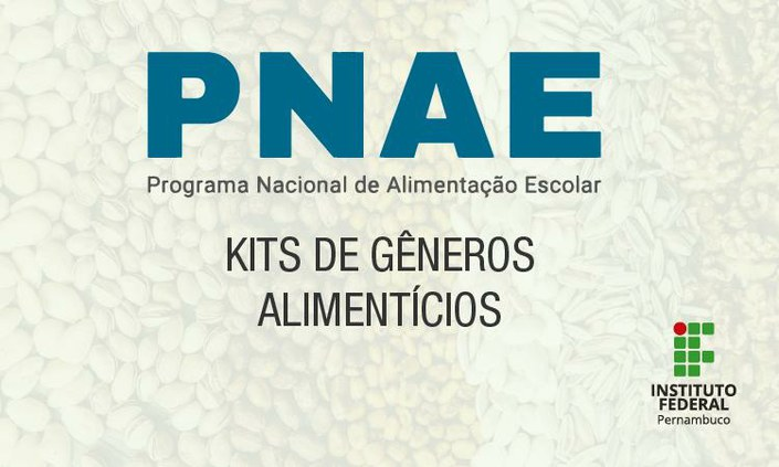 Campus inicia levantamento para distribuição de alimentos do PNAE