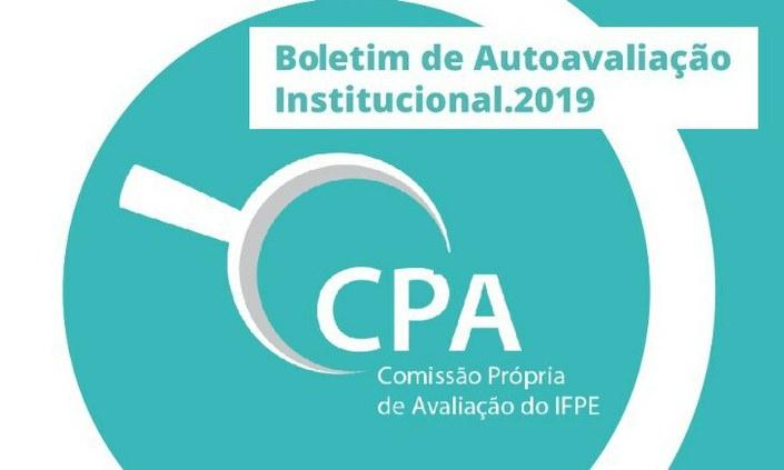 CPA divulga doze boletins com Autoavaliação Institucional (2019)