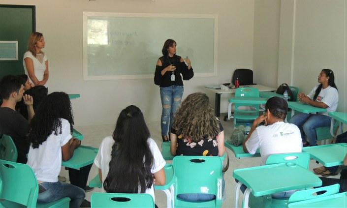 Interação marca último o dia do ENEXT no Campus Vitória