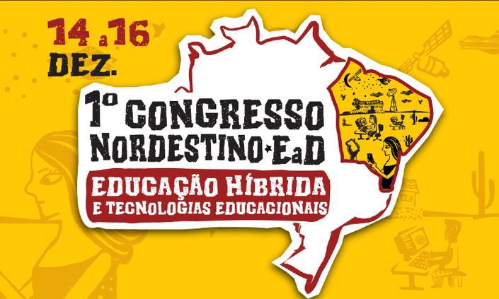 Abertas inscrições para Congresso Nordestino de Educação Híbrida e Tecnologias Educacionais