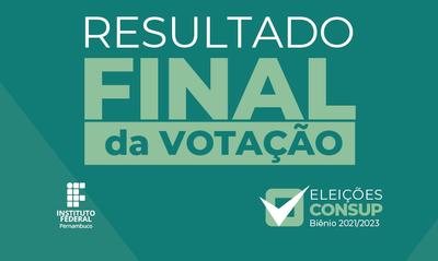 A homologação do resultado deverá ocorrer no dia 14 de dezembro