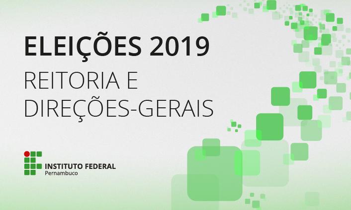 Eleições IFPE 2019 | Comissão publica edital que regulamenta consulta eleitoral