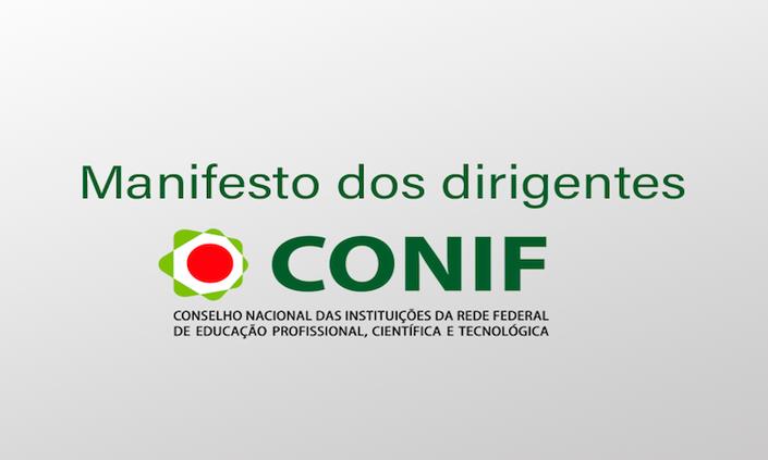 Em nota, Conif manifesta preocupação com atual cenário da disputa eleitoral