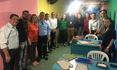 Equipe do IFPE visita curso no presídio de Igarassu