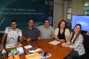 Reitora recebe estudante do IFPE que representará Brasil em competição internacional de xadrez