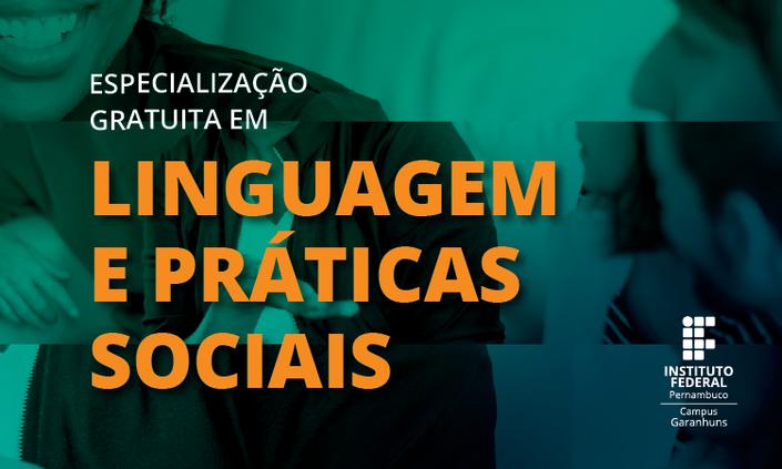 IFPE lança especialização em Linguagem e Práticas Sociais