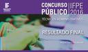 Concurso Técnicos-Administrativos 2016
