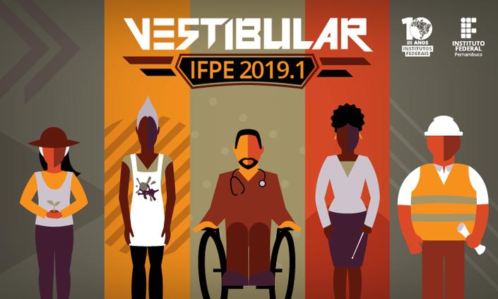 IFPE libera cartão de inscrição de Vestibular 2019.1