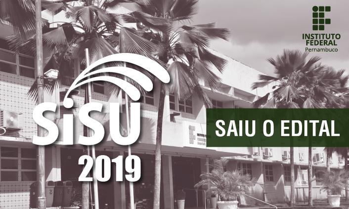 IFPE oferta 350 vagas em cursos superiores no SiSU 2019